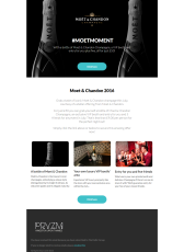 """Moet & Chandon """"VIP Luxury"""" Email Campaign"""