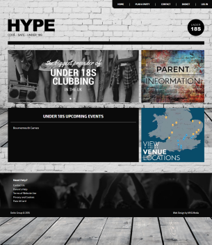 hype-website