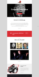 Comedy Club Haus Email Campaign